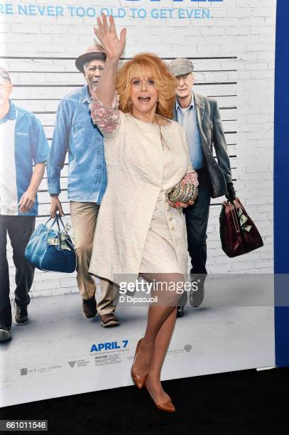 AnnMargret attends the 'Going in Style' New York premiere at SVA Theatre on March 30 2017 in New York City