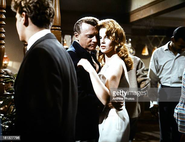 Ann-Margret dancing with man in a scene from the film 'Bus Riley's Back In Town', 1965.