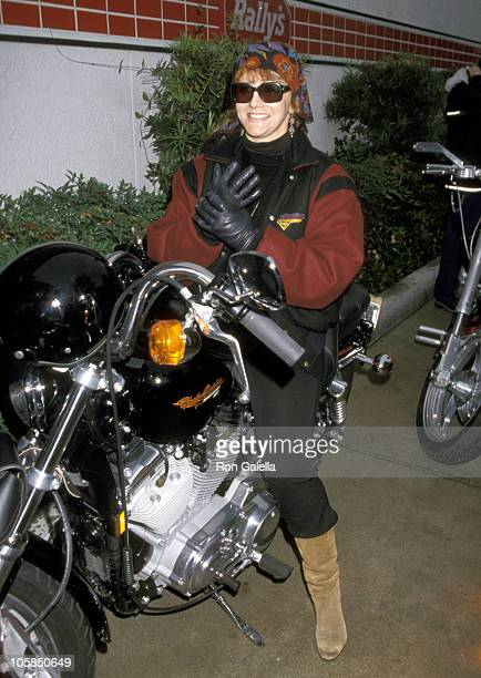 AnnMargret during 15th Annual Love Ride Benefit at Harley Davidson Store in Glendale California United States