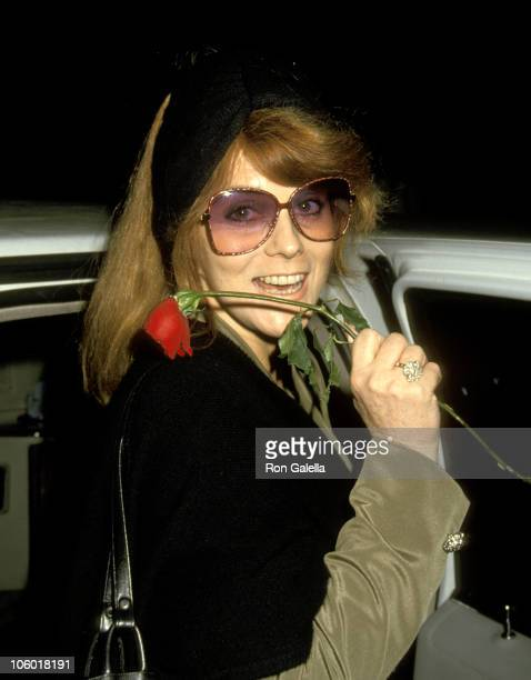 AnnMargret during 'Tommy' Performance April 29 1993 at St James Theater in New York New York United States