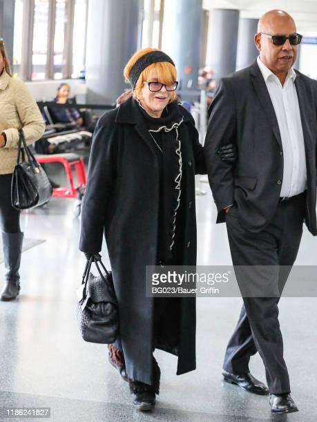 AnnMargret is seen at Los Angeles International Airport on December 02 2019 in Los Angeles California