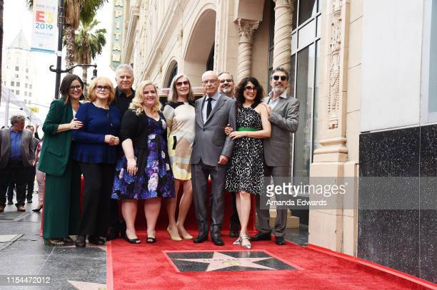 AnnMargret Paul Reiser Sarah Baker Susan Sullivan Alan Arkin Lisa Edelstein and Chuck Lorre attend Alan Arkin's star ceremony on The Hollywood Walk...