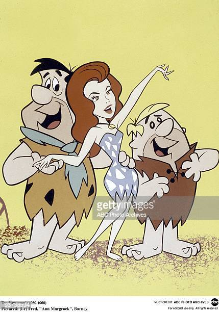 FLINTSTONES AnnMargrock 9/19/63 Mr Slate's company is building the Bedrock Bowl which is about to receive superstar AnnMargrock Fred and Barney...