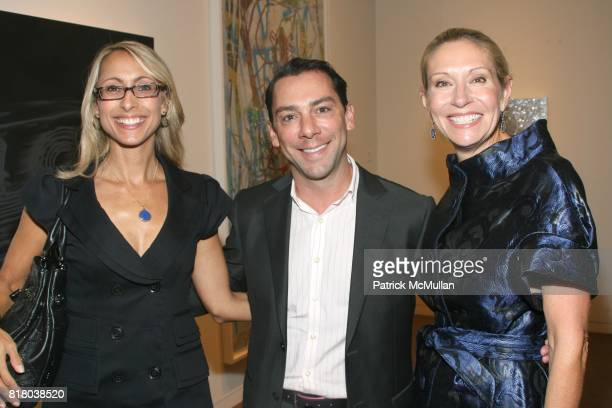 AnnMari Shannahan Gregory Boroff and Cindy Rachofsky attend TWO x TWO for AIDS and Art Preview of Auction Highlights at Sotheby's on September 16...