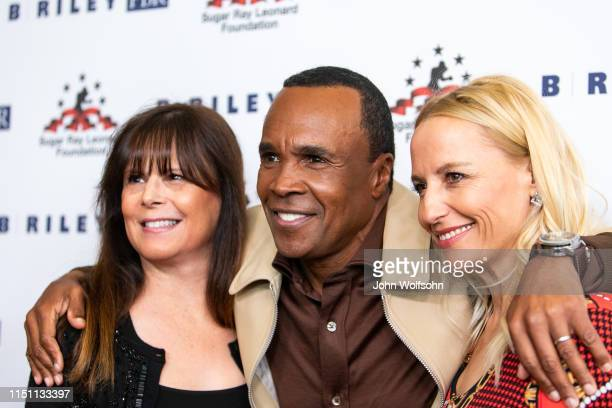 AnnMarie Newman and Daisy Lang attend Sugar Ray Leonard Foundation's 10th Annual 'Big Fighters Big Cause' Charity Boxing Night at The Beverly Hilton...