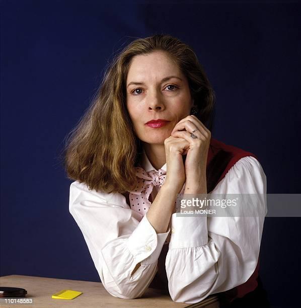 Ann-Marie Pol, writer in France in December, 1999.