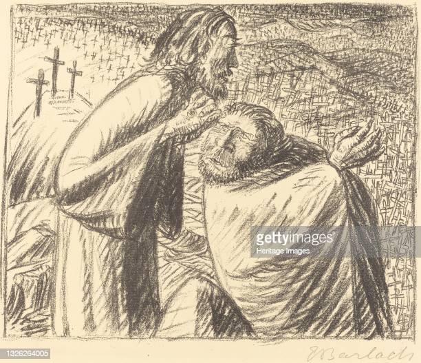 Anno Domini MCMXVI Post Christum Natum, 1916. Artist Ernst Barlach.