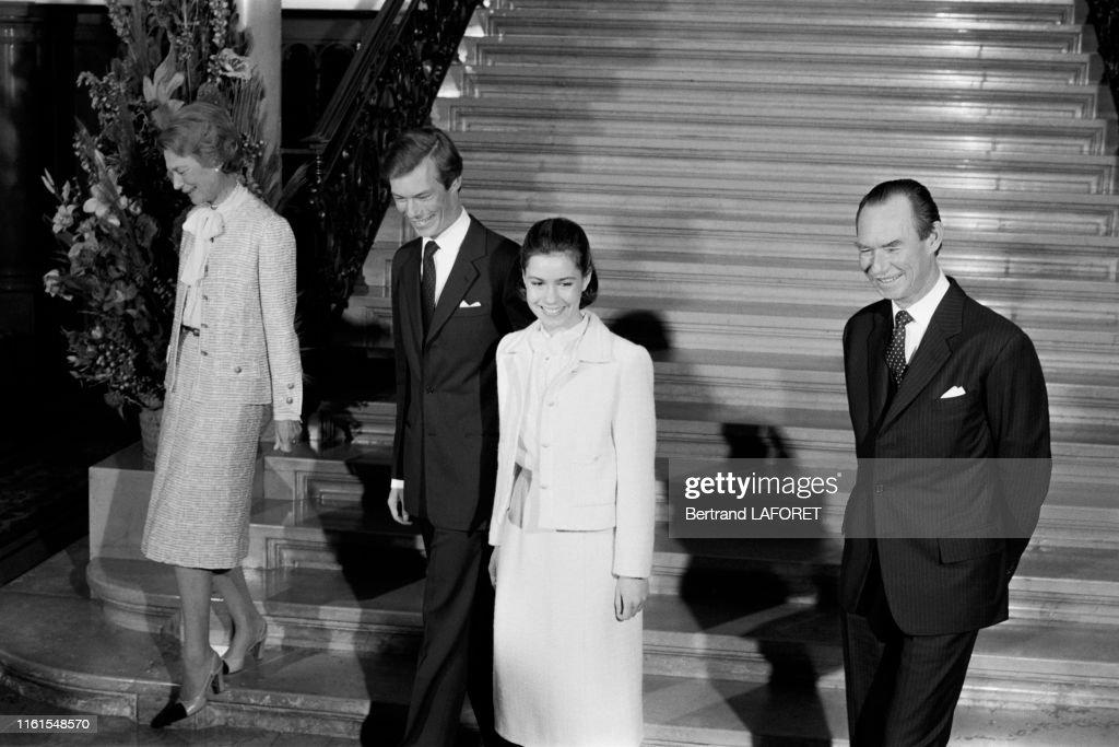 La famillle ducale de Luxembourg en 1980 : News Photo