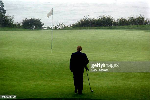 Announced on Saturday, 11/9/02 a major addition to his West Coast properties as he purchased the Ocean Trails Golf Club in Rancho Palos Verdes. He...