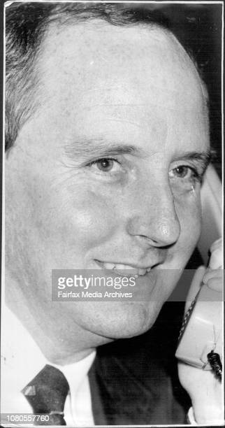Announcement of the ARU coach for the 1984 seasonAlan Jones at his office in Sussex street after the announcementAustralia's new Rugby Union coach...