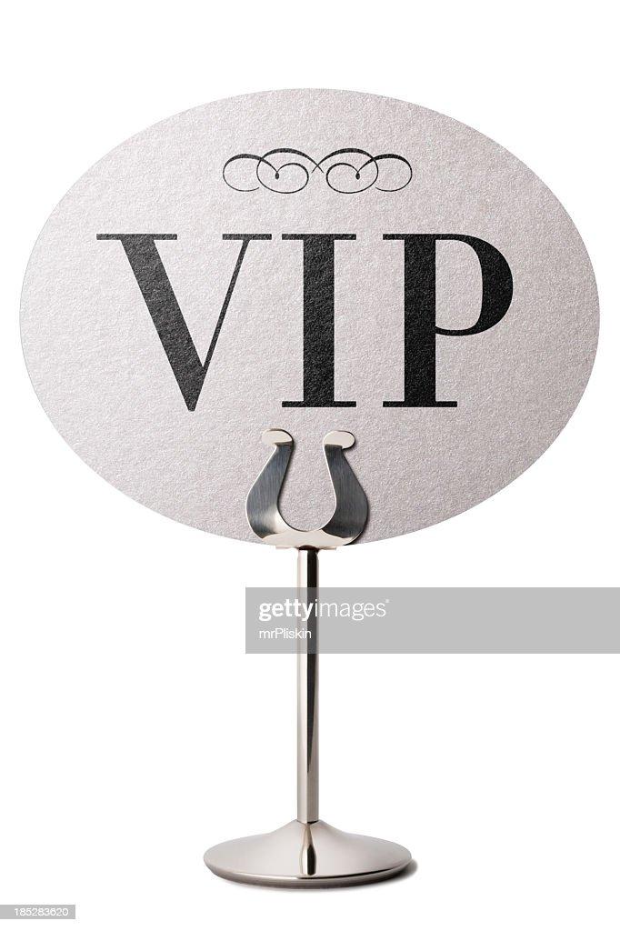 Stehen VIP-Ankündigung Tisch : Stock-Foto