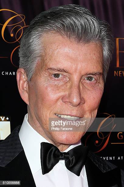Announcer Michael Buffer attends the City Gala Fundraiser 2016 at The Playboy Mansion on February 15 2016 in Los Angeles California
