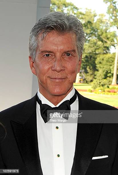 Announcer Michael Buffer attends The Greenbrier for the gala opening of the Casino Club on July 2 2010 in White Sulphur Springs West Virginia