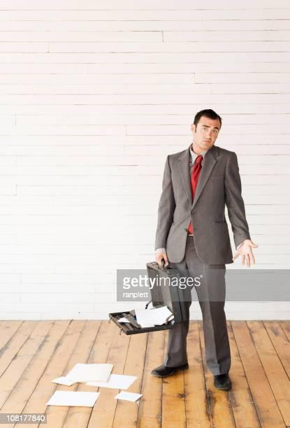 Verärgerter Geschäftsmann
