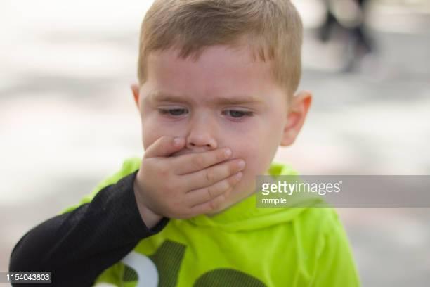 annoying allergy cough - cough foto e immagini stock
