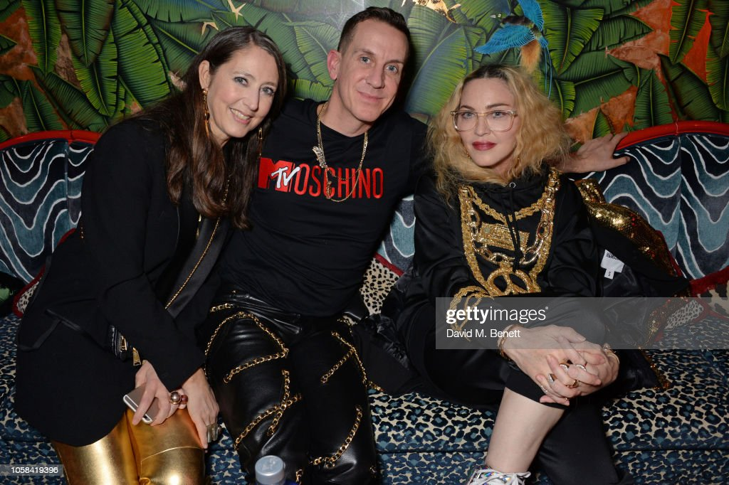 Moschino [TV] H&M London Launch Party : News Photo