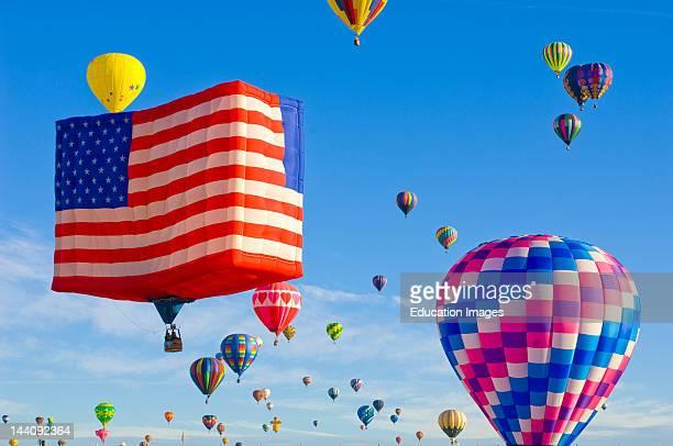 Annual Albuquerque International Hot Air Balloon Fiesta Albuquerque New Mexico