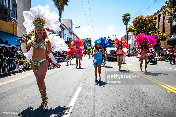 Annual Carnaval Festival in Mission District, San Francisco
