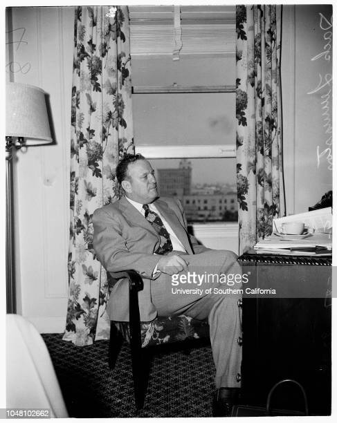 Annual conference Sectional United Auto Workers 22 September 1951 Jack Livingston of Detroit National Director of United Auto Workers Aircraft...