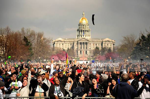 Annual Denver 420 Rally in Civic Center Park Joe Amon The Denver Post pot rally