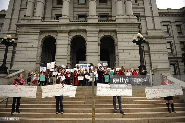 Annual Equal Pay Day Rally at the Capitol with pay equity advocates, businesspeople and legislators on the west steps Tuesday, April 12 to highlight...