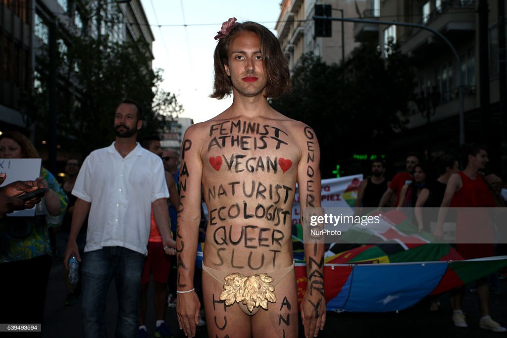 Gay Pride Parade 2016 in Athens : News Photo