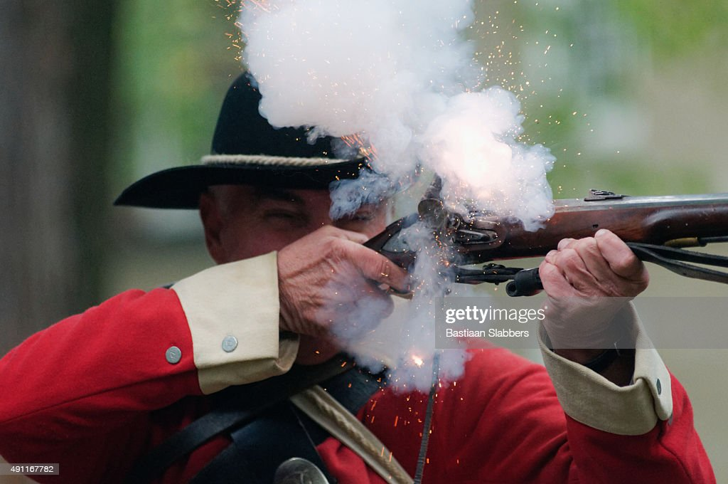 Annual Historic Revolutionary Germantown Festival, Northwest Philadelphia, PA : Stock Photo