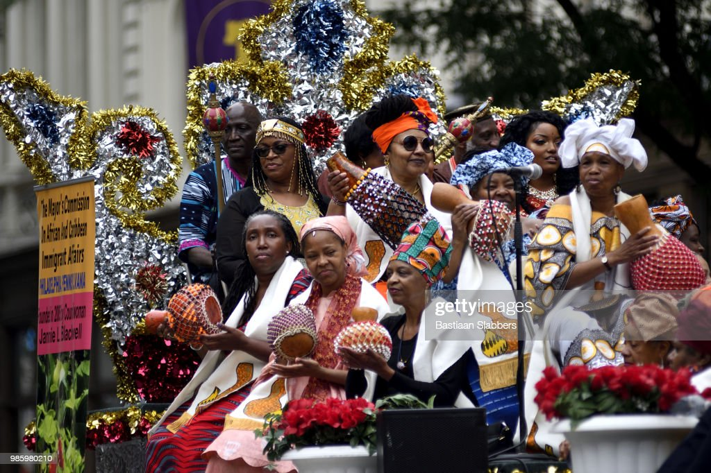 Annual Juneteenth Parade and Festival in Philadelphia, PA : Stock Photo