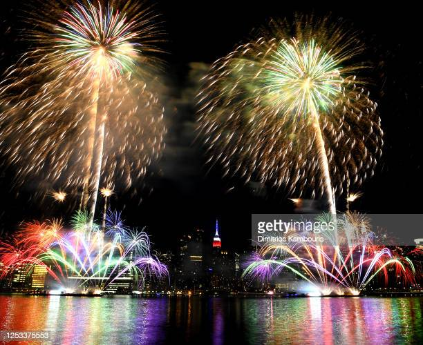 Annual Macy's 4th Of July Fireworks In NYC Spread Out Over Six Nights on June 29 2020 in New York City
