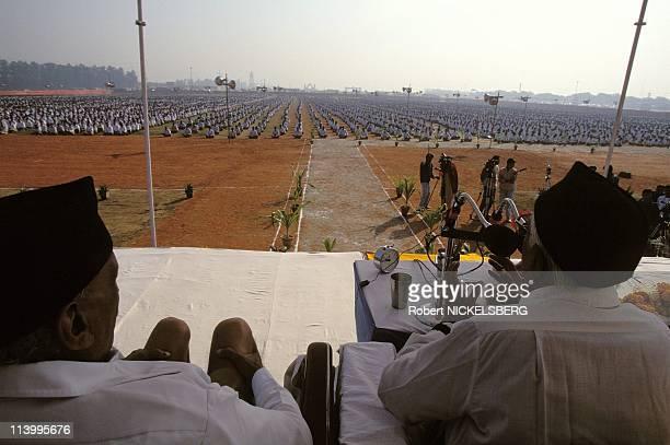 Annual meeting of Hindu nationalist organization In New Delhi, India On December 04, 1995.