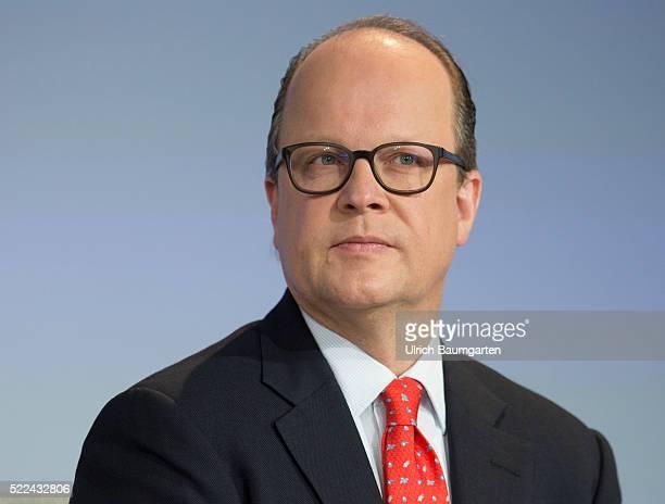 Annual Press Conference Boehringer Ingelheim. Hubertus von Baumbach, Chief Financel Officer and designated Chairman of the Management.