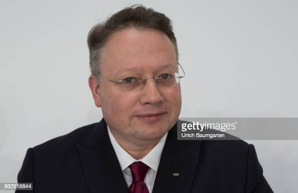 Annual Press Conference of AUDI AG in Ingolstadt Alexander Seitz Chief Financel Officer of Audi AG