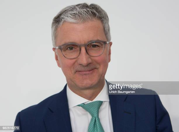 Annual Press Conference of AUDI AG in Ingolstadt Rupert Stadler Chief Executive Officer of Audi AG