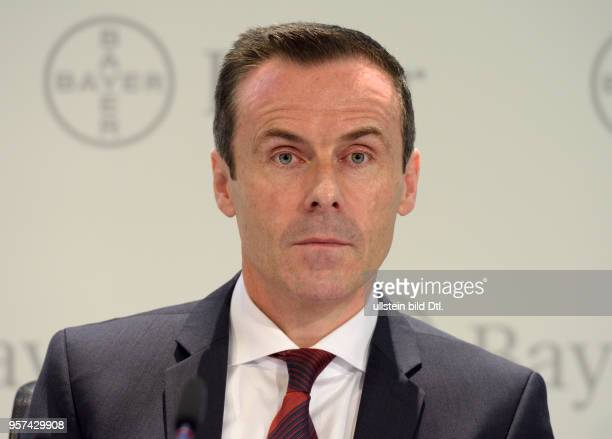 Annual press conference of Bayer AG : Liam CONDON , Member of the Board