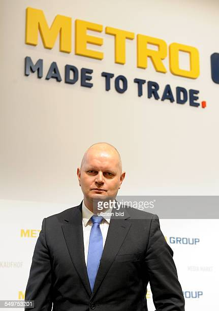 Annual press conference of Metro AG CEO Olaf KOCH