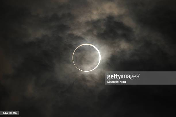 Annular Solar Eclipse is observed on May 21, 2012 in Tokyo, Japan. It is the first time in 25 years since last annular solar eclipse was observed in...