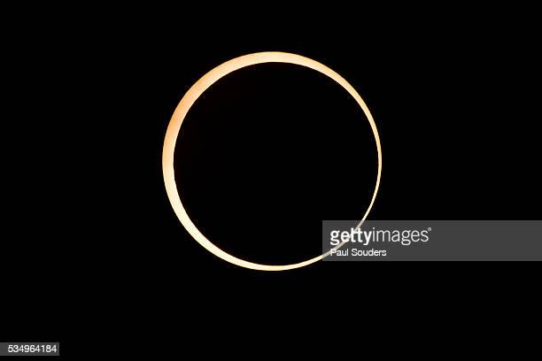 annular solar eclipse, redding, california - annular solar eclipse stock pictures, royalty-free photos & images