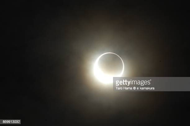 annular solar eclipse seen in japan in 2012 may - annular solar eclipse stock pictures, royalty-free photos & images