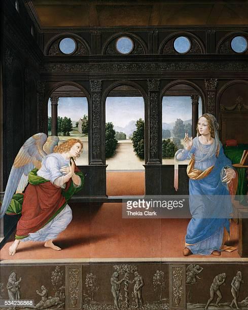 Annunciation by Lorenzo di Credi