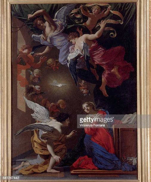Annunciation by Simon Vouet