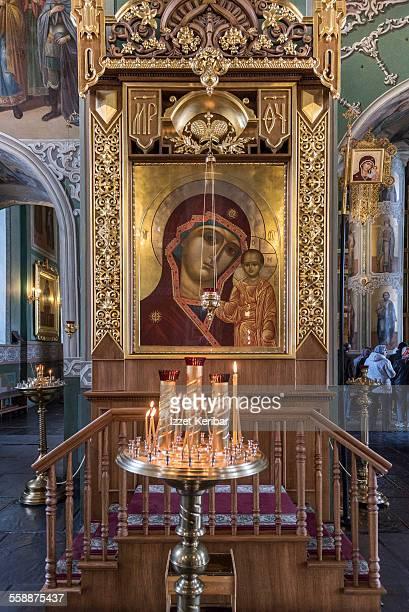 annunciation cathedral, kazan kremlin - カザン市 ストックフォトと画像