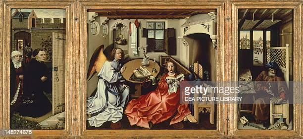 Annunciation of Merode by Rogier van der Weyden New York The Metropolitan Museum Of Art