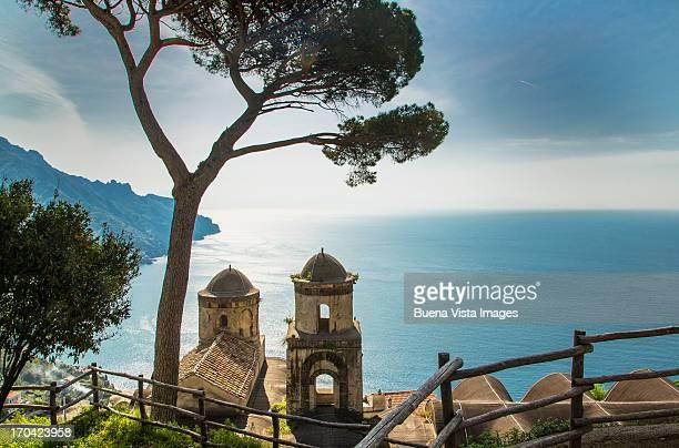 Annunziata Church of Ravello, view from Villa Rufo