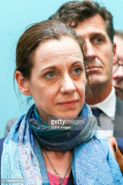 Annunziata ReesMogg sister of Conservative MP Jacob ReesMogg elected as Member of the European Parliament for East Midlands is seen during the EU...