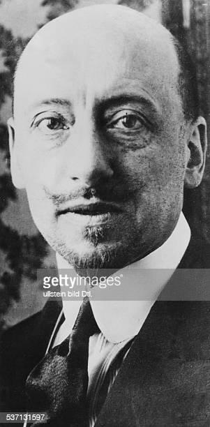 Annunzio Gabriele d' Schriftsteller Politiker Italien undatiert