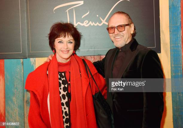 Anny Duperey and Alain Pacherie from Cirque Phenix attend 39th 'Festival Mondial Du Cirque de Demain' Awards Ceremony At Cirque Phenix on February 4...