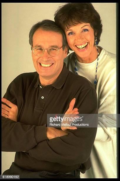 Anny Duperey and Bernard Lecocq