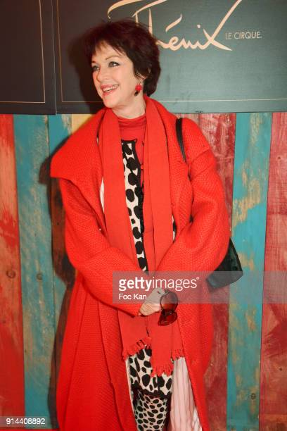 Anny Duperey attends 39th 'Festival Mondial Du Cirque de Demain' Awards Ceremony At Cirque Phenix on February 4 2018 in Paris France