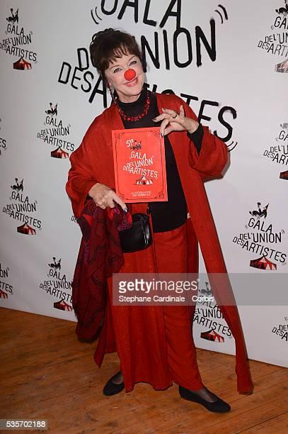 Anny Duperey attends the 51st Gala de L'Union Des Artistes at Cirque Alexis Gruss, in Paris.
