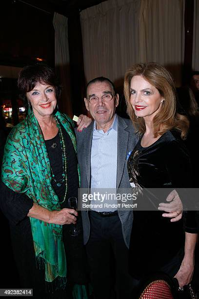 Anny Duperey, Cyrielle Clair and Michel Corbiere attend the Fouquet's Paris Restaurant presents its Menu 'Twisted' by the Chef Pierre Gagnaire. Held...
